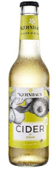Cider und Birne